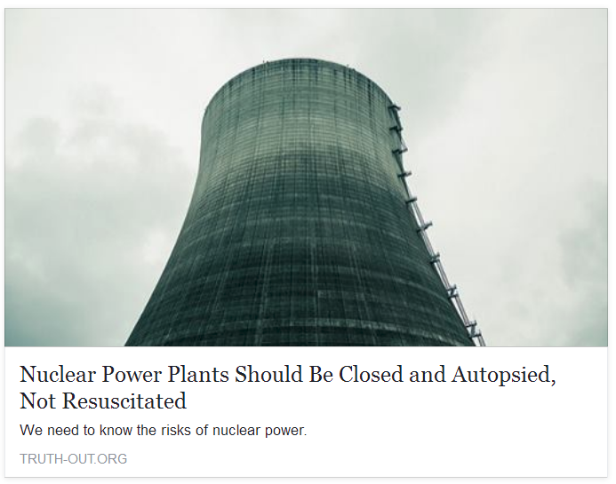 the promises and perils of nuclear power Assignment 1: discussion—the promises and perils of nuclear power energy produced in a nuclear reactor is created from the splitting of atoms of specific elements, for example, uranium.