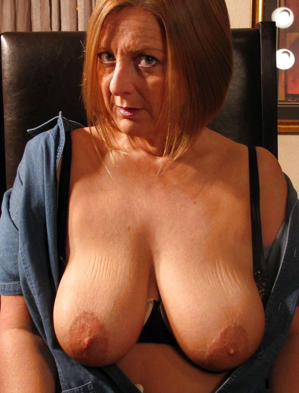 Massive mature boobs