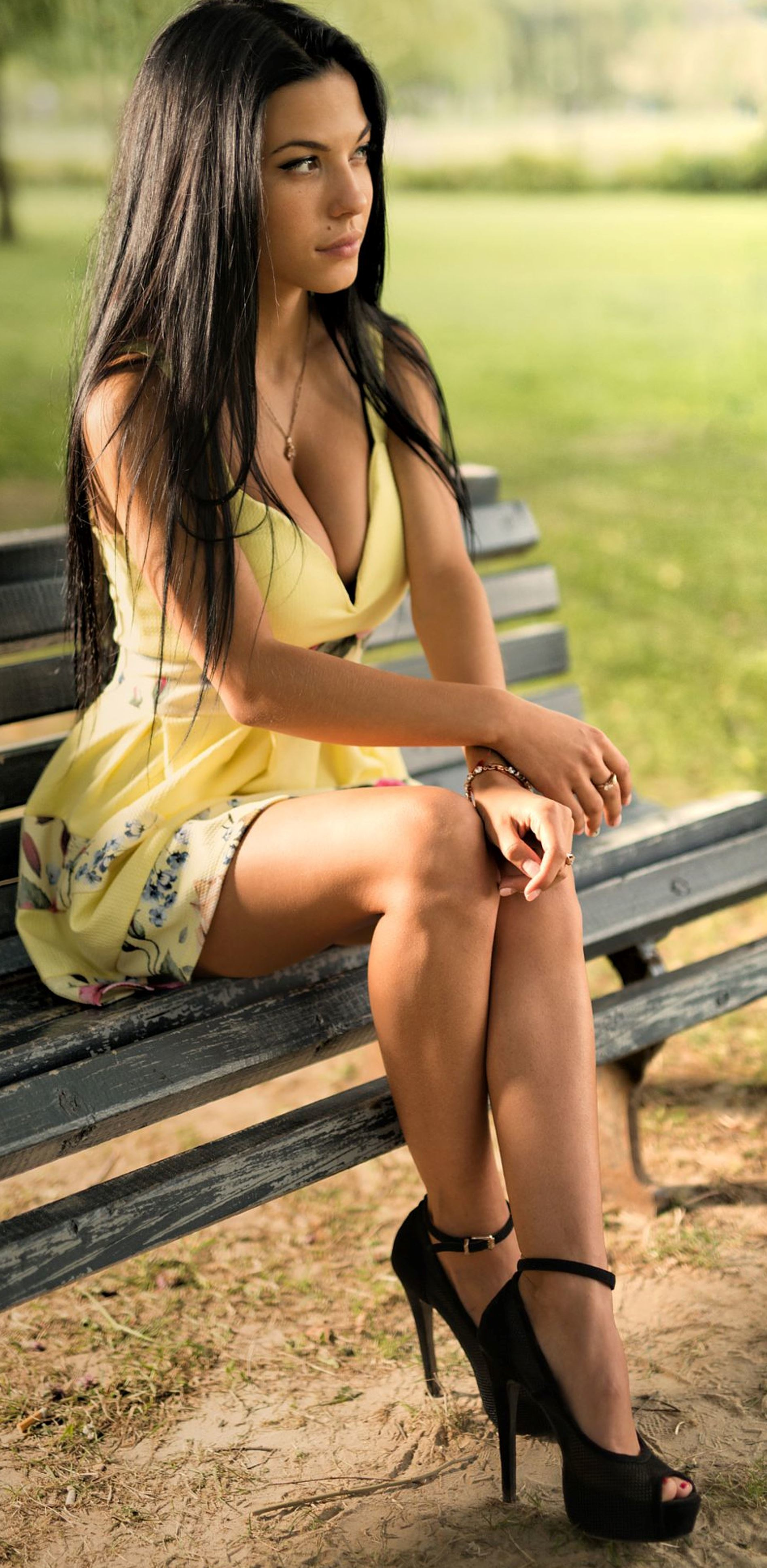 Sweet brunette babe no longer can take this sexless miserable life  926791